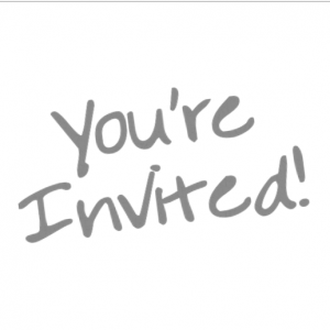 You'r Invited