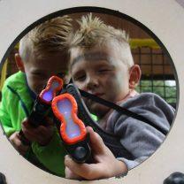 Lasergame Geweren Geschminkte Jongens 2 2 2.jpg